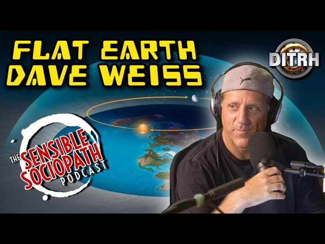 Famous Flat Earth Dave Weiss: The Naked Lies of Spheres