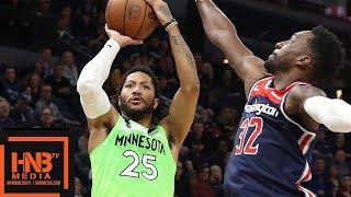 Minnesota Timberwolves vs Washington Wizards Full Game Highlights | March 9, 2018-19 NBA Season