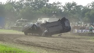 Crashes Autocross Middenbeemster 02-08-2015