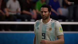 Argentina vs Croacia Russia 2018 /FIFA 18