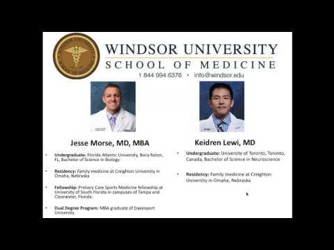 2017 Windsor University School of Medicine Alumni Webinar featuring Davenport University Representat