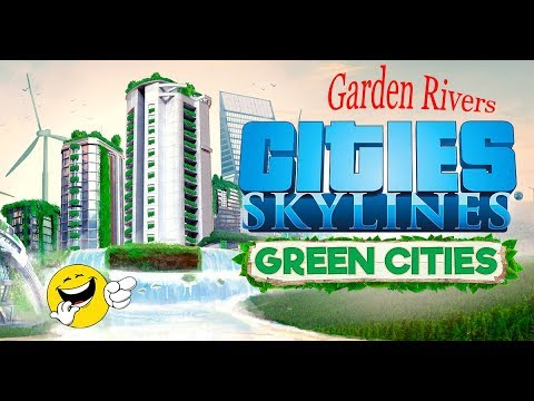 Garden Rivers - Part 9 | Airport, Traffic Control and Transit | Cities Skylines