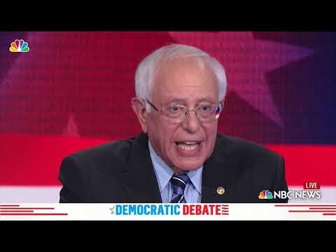 Democratic Debate: Bernie Sanders Says 'Taxes Will Go Up' for Healthcare | NBC New York
