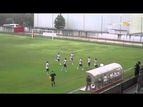 GOLO DIOGO PEDRAS ( Leça FC ) - MINUTO90 TV