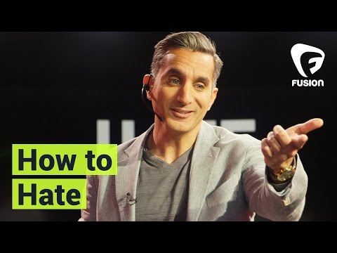 How to Hate Right (with Bassem Youssef) • TED talk parody