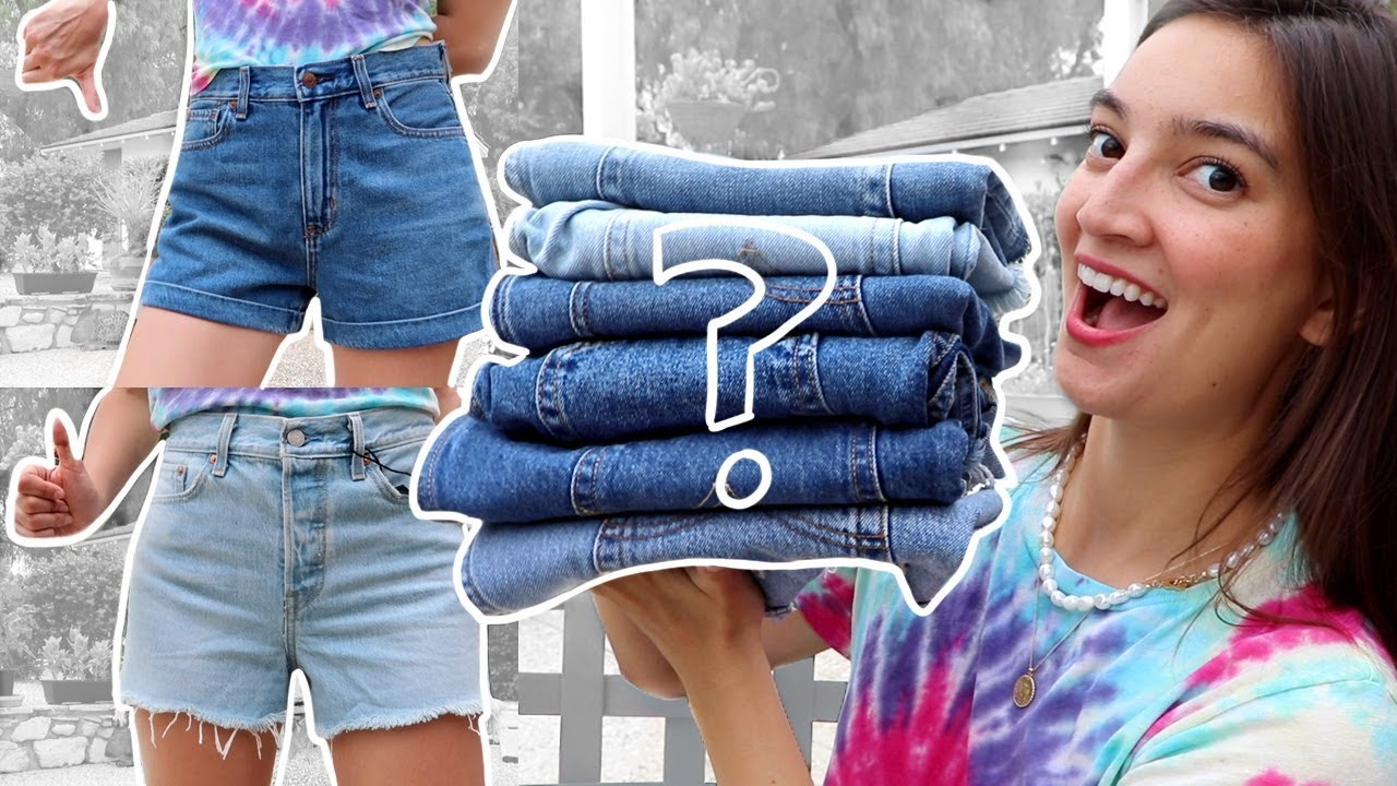 [VIDEO] - Which Brand Makes The Best DENIM SHORTS? 2