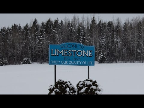 Limestone Maine raw unedited footage from 12/21/2014