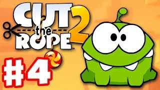 Cut the Rope 2 - Gameplay Walkthrough Part 4 - Junkyard! 3 Stars! (iOS, Android)