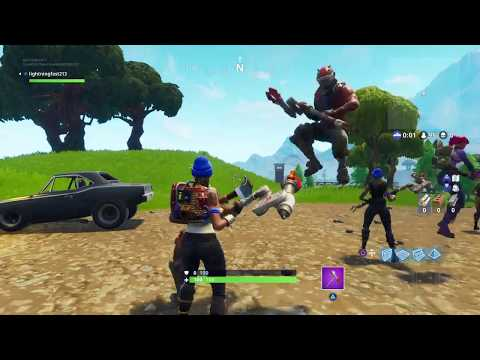 Fortnite solo (skip to 1:19:20 to see my winning game)