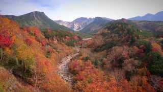 北海道の絶景 十勝岳温泉郷の紅葉 2014 Shinji kawamura by Hisashi Saikachi on YouTube