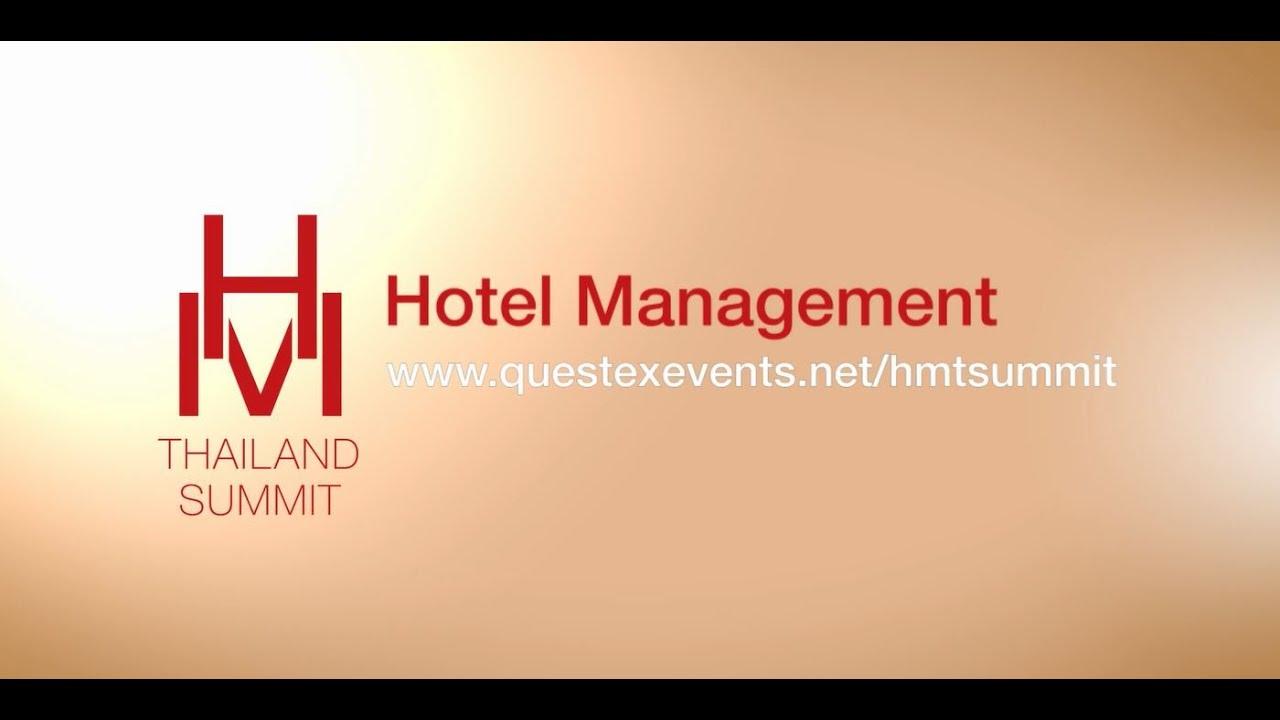 Hotel Management Summit 2018 Bangkok