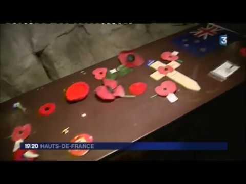 La carrière Wellington à Arras, lieu de mémoire
