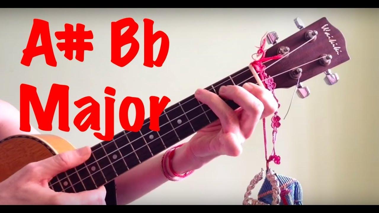 A bb major ukulele chords youtube a bb major ukulele chords hexwebz Image collections