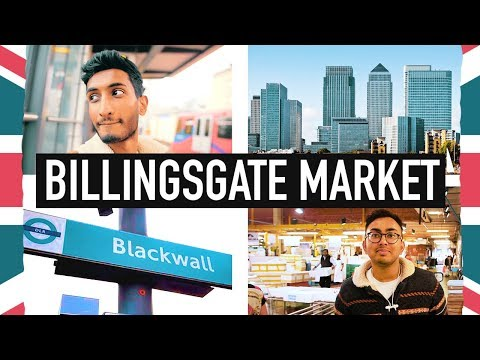 Top Things To Do In LONDON | Billingsgate Fish Market
