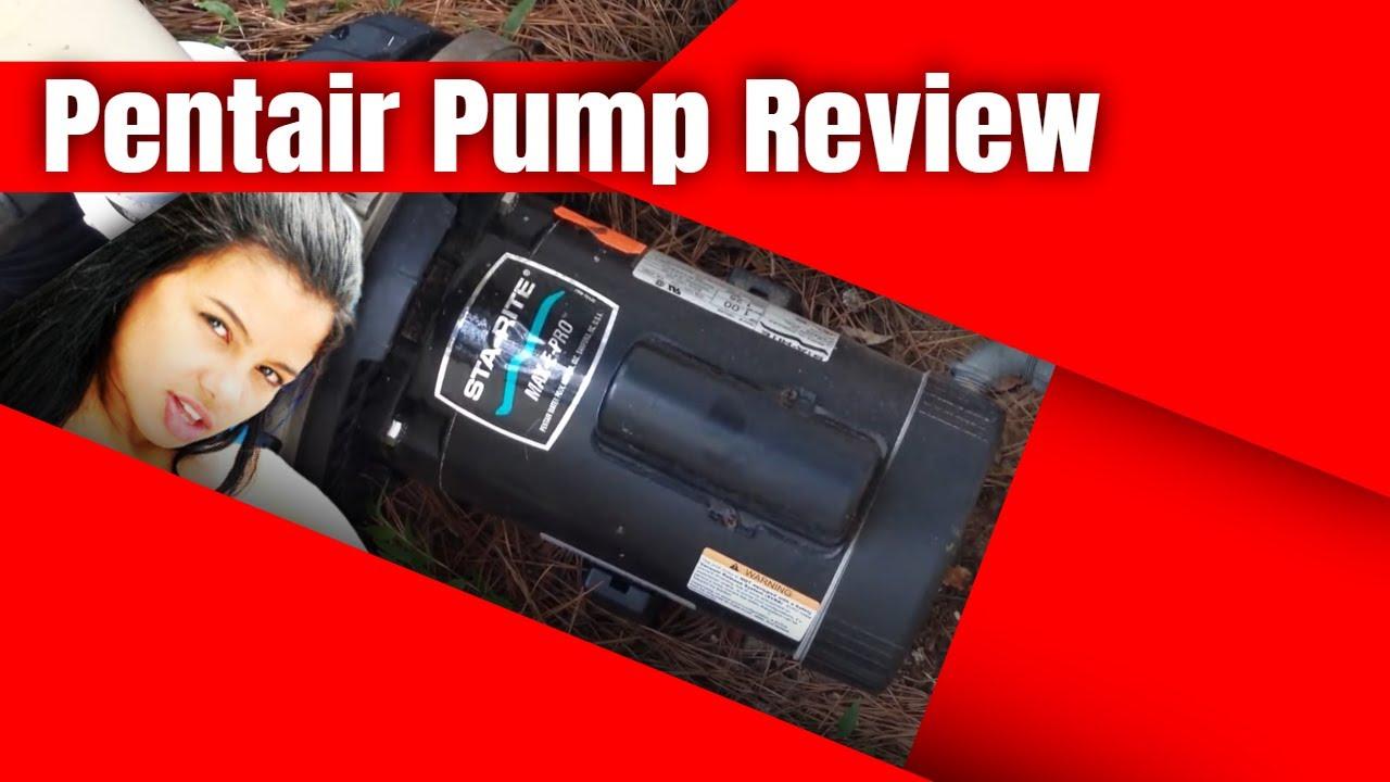 Pentair Sta Rite Max E Pro Pool Pump Review Youtube