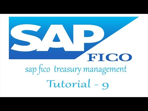 sap fico treasury management  tutorial for fresher