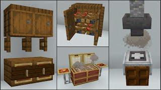 Minecraft: 40+ Kitchen Build Hacks and Ideas YouTube