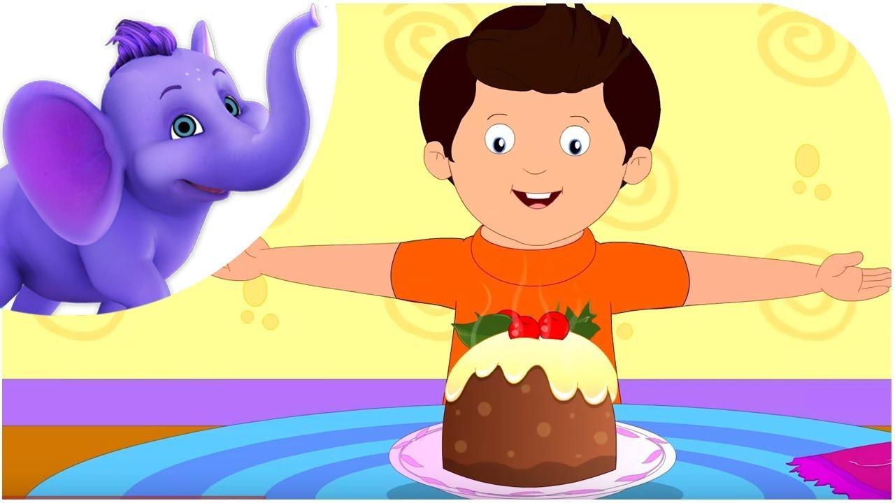 Nursery Rhyme Christmas Pudding You