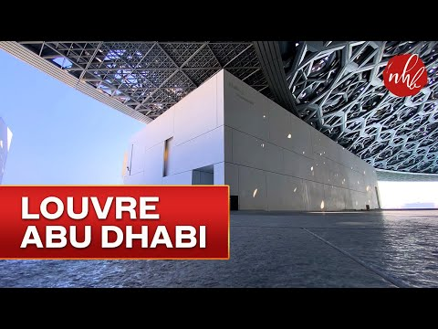 Louvre Abu Dhabi Full Tour   The Largest Museum in the Arabian Peninsula 4K
