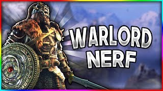 [For Honor] Testing The New Warlord Nerf