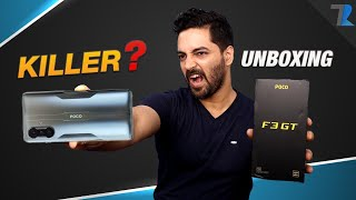 POCO F3 GT Unboxing & Overview - Beast Is Back⚡⚡⚡