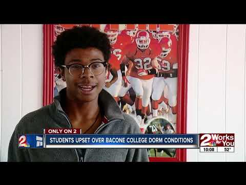 Bacone College students upset with conditions