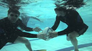 Underwater Rugby with Zac Guildford, Adam Thomson and Conrad Smith