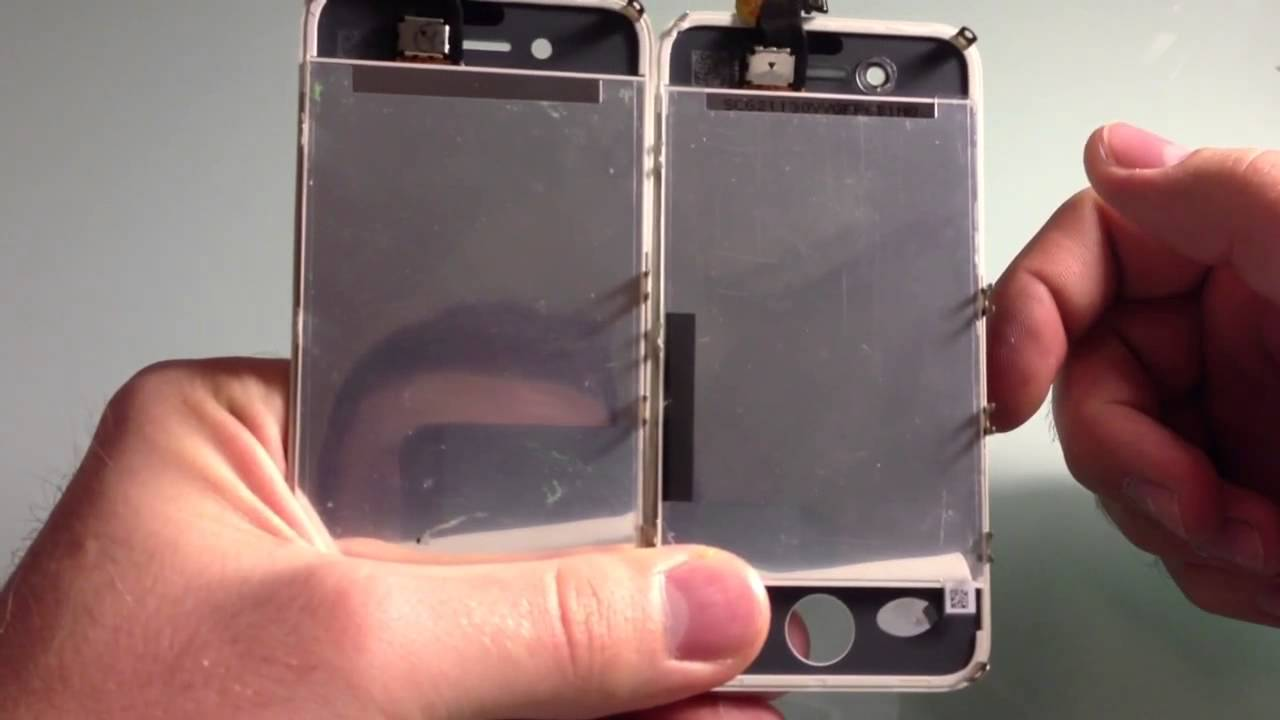 IPhone 4 4S How To Tell If The Glass Is OEM Or Copied