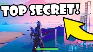 I Made a SECRET PROJECT in Fortnite Creative!