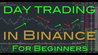 Day Trading AltCoins in Binance - How to Day Trade Cryptos for Beginners