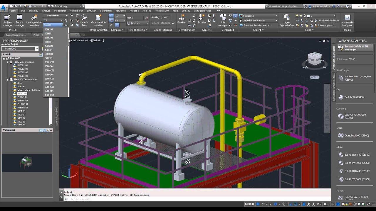 Online workshop anlagendokumentation mit autodesk Online 3d modeling