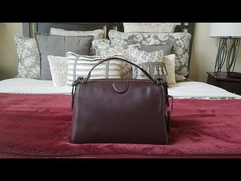 9cc820229f3a Coach Laurel Frame Bag - YouTube