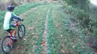 take a kid mountain biking day blue marsh lake crash at 2 15 caught on two cameras