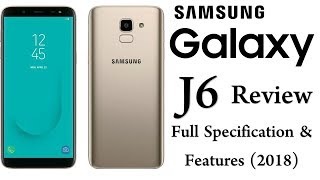 Samsung Galaxy J6 Review (2018) | Samsung Galaxy J6 (2018) Full Specs and Features (Urdu/Hindi)