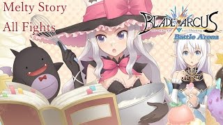 Melty Story Mode Walkthrough - Blade Arcus from Shining: Battle Arena [English, Full 1080p HD]