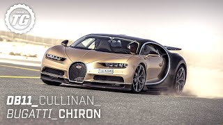 Chris Harris Drives... Best of Luxury: Aston Martin DB11, 261mph Bugatti Chiron, Cullinan | Top Gear