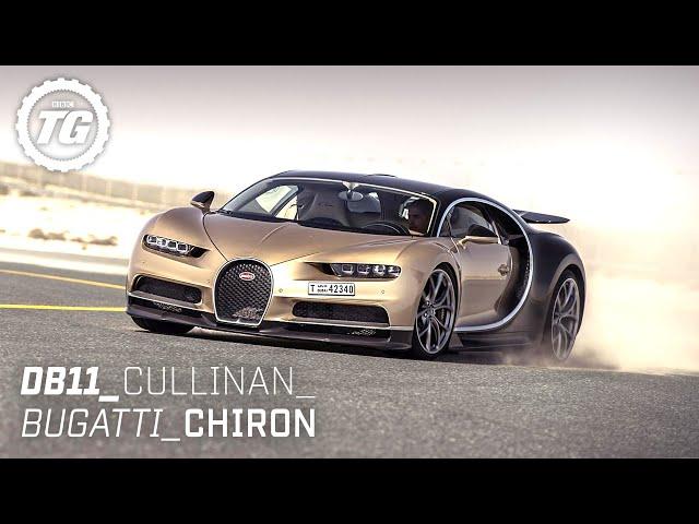 Chris Harris Drives... Best of Luxury: Aston Martin DB11, 261mph Bugatti Chiron, Cullinan | Top Gear