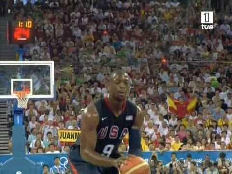USA vs. Spain (All American 118 baskets)