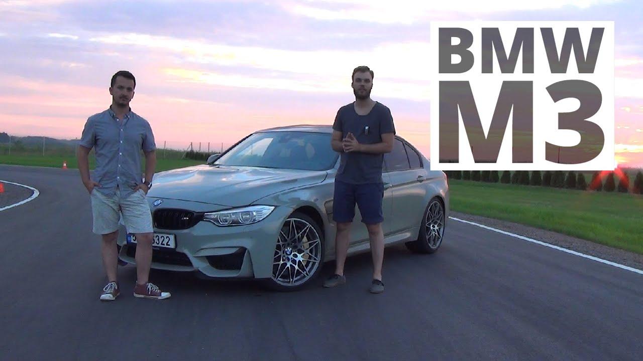 Bmw M3 Competition 30 450 Km 2016 Test Autocentrumpl 287 Youtube