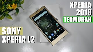 Unboxing Sony Xperia L2 Indonesia - Varian Termurah di 2018