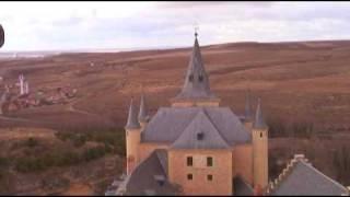 Segovia Spain Follow Alena Alcazar Roman Aqueduct