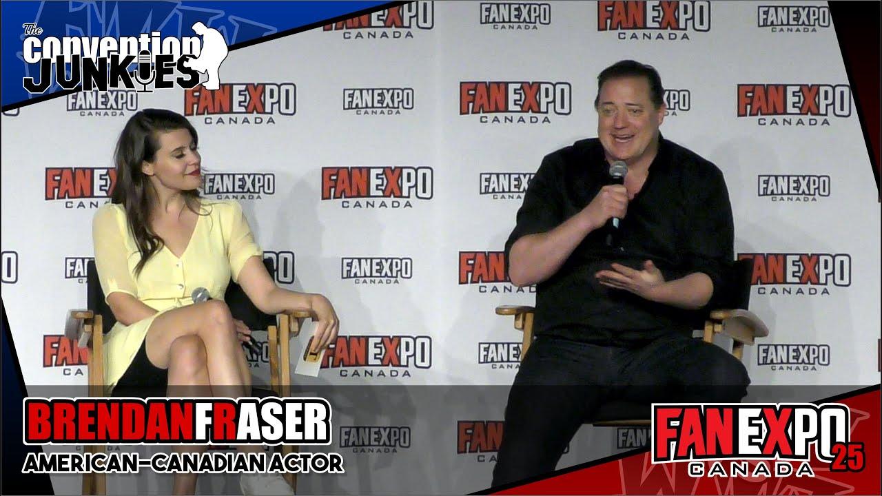 Download Brendan Fraser (The Mummy & Doom Patrol)- Fan Expo Canada 2019 Q&A Panel
