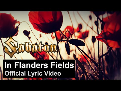 SABATON - In Flanders Fields (Official Lyric Video)