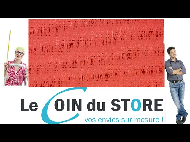 Toile PVC pour pergola et store Soltis Perform 92 Rouge velour nacre dore 2152 Serge Ferrari