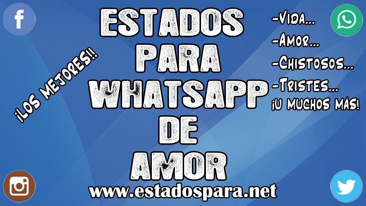 Estados Para Whatsapp De Amor Frases Para Tu Estado De Whatsapp