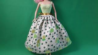Урок шитья летней юбки для Барби. Мастер-класс.
