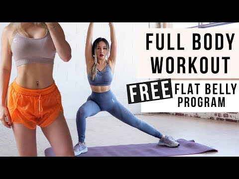 30 Min Full Body Workout to BURN FAT & GET ABS + Toned Legs | FREE WORKOUT PROGRAM