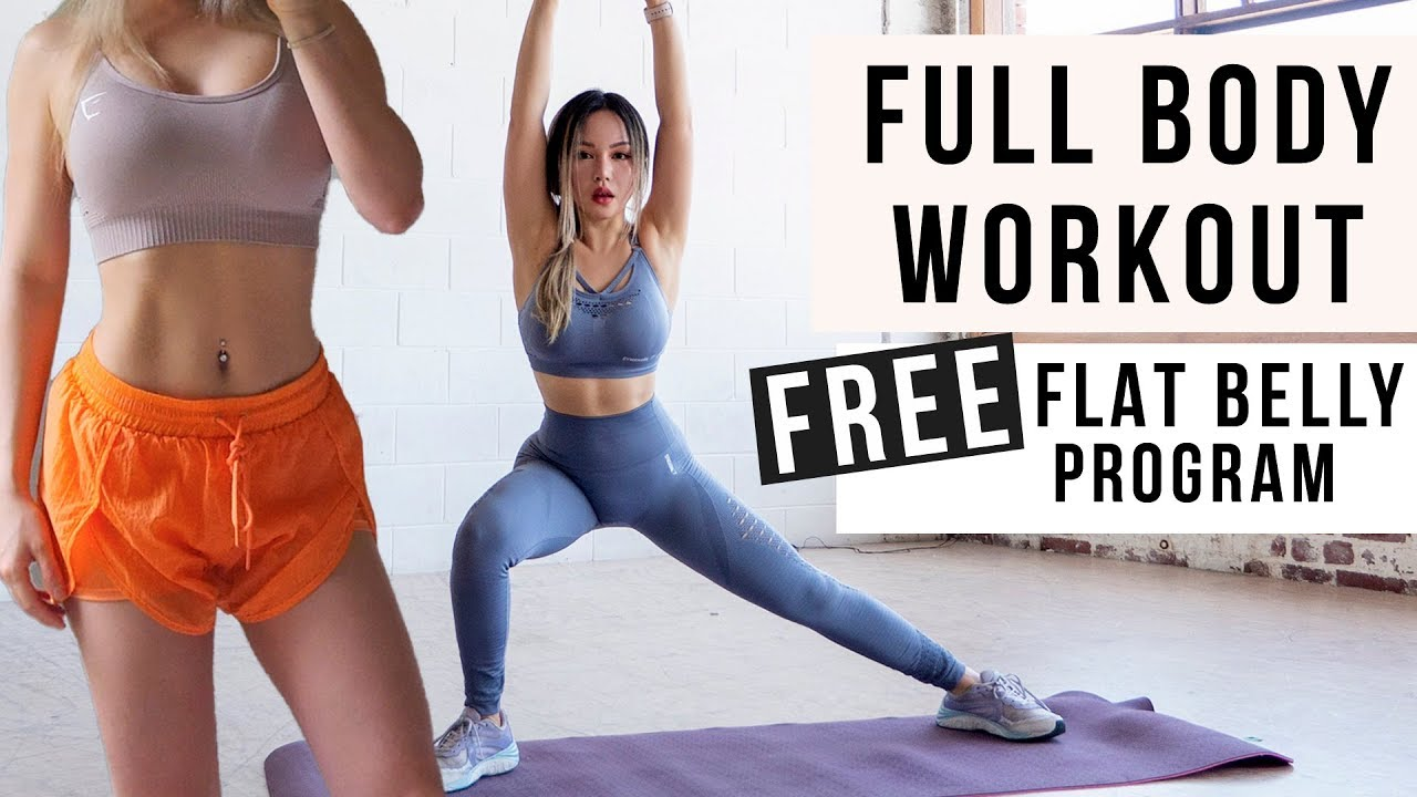 30 Min Full Body Workout to BURN FAT & GET ABS + Toned Legs | FREE ...