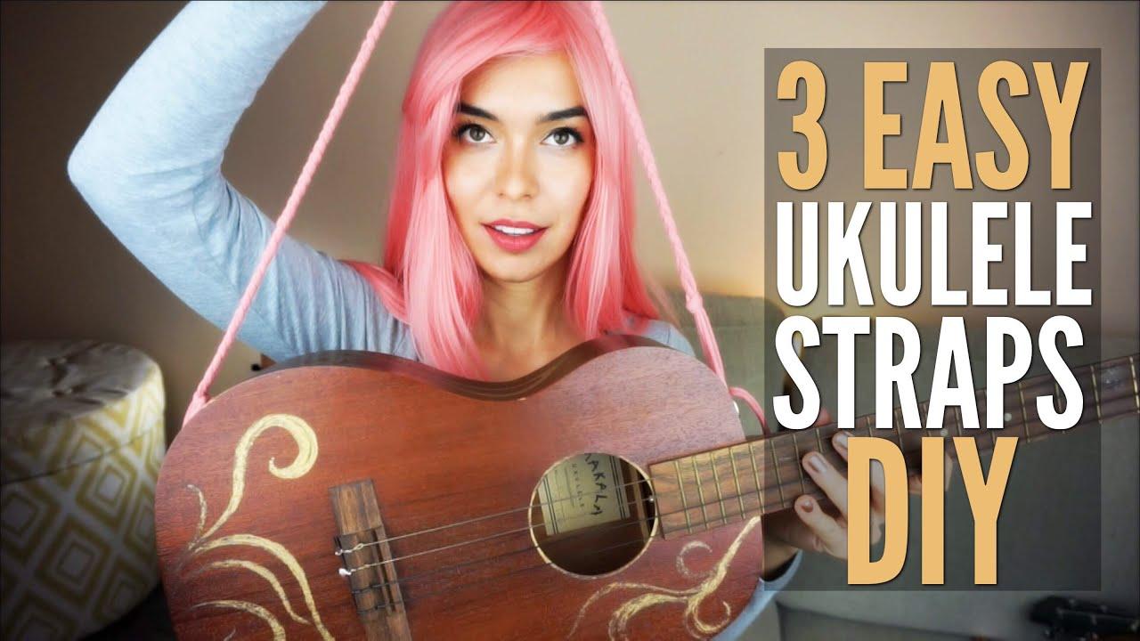 3 diy ukulele straps under 5 no drilling youtube 3 diy ukulele straps under 5 no drilling solutioingenieria Images
