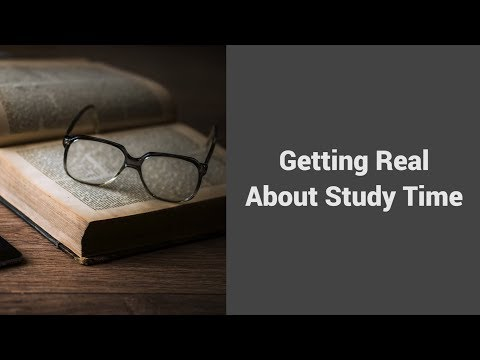 MOOC USSV101x   Effective Time Management   Getting Real About Study Time